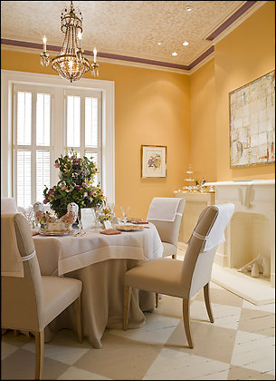 Dining Room by Camille Saum
