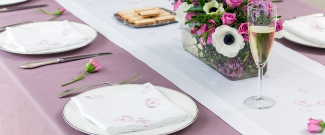 lavender-linen-tablecloth-white-cherry-blosom-linen-napkin