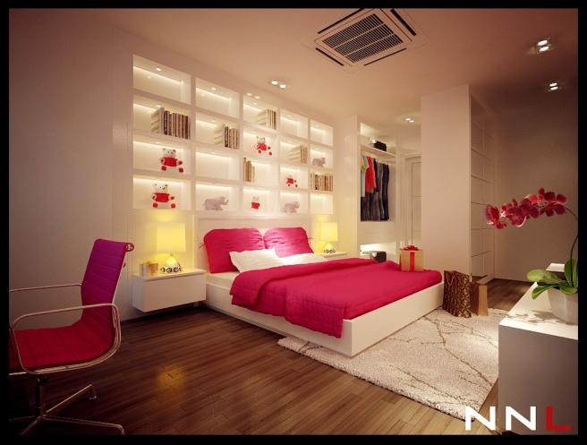 pink-white-bedroom