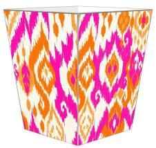 WB8409_Sunrise_Ikat_Wastepaper_Basket_grande