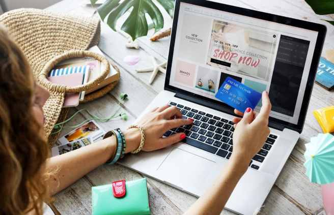 online shopping cover photo
